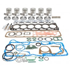 MITSUBISHI S6S-DT TURBO DIRECT INJECTION ENGINE REBUILD KIT - MAJOR