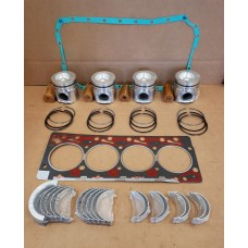 CUMMINS 4BT 3.9 NON-EMISSION TURBO INFRAME ENGINE OVERHAUL KIT - 5120 580K 450C